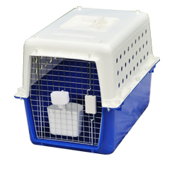 plastic pet travel cage model pp30